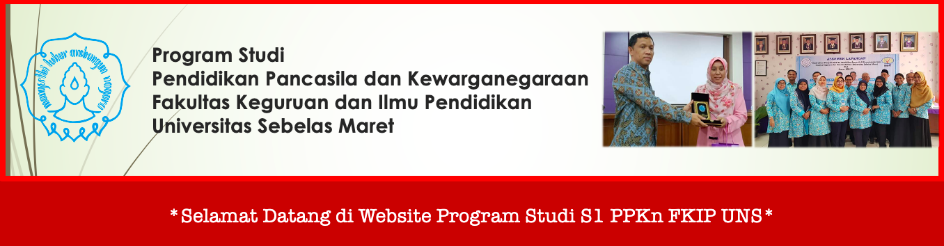 Selamat datang di website Program Studi S1 PPKn FKIP UNS